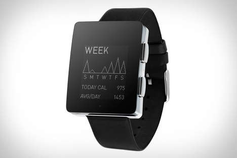 Stylish Health-Tracking Bracelets - The Wellograph Watch Receives CES 2014 Design & Innovation Award