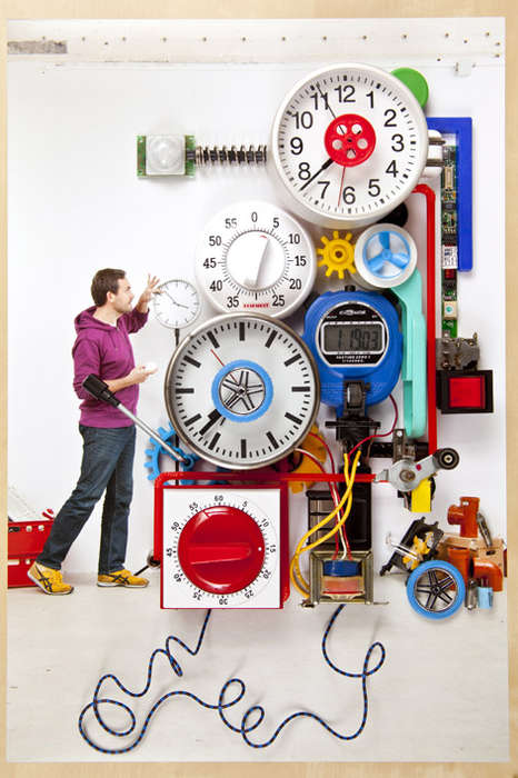 Inventive Contraption Photographs - Jan Von Holleben Creates Machines for Saving the Universe