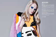 Face-Printed Couture Editorials