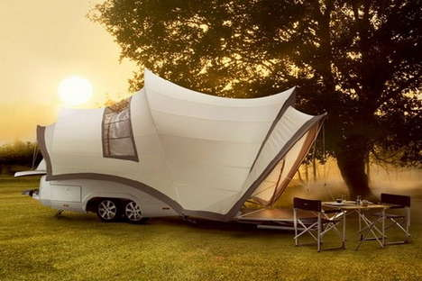 35 Conspicuous Campers - From Rustic Barnyard SUVs to Geodesic Domed Lodges