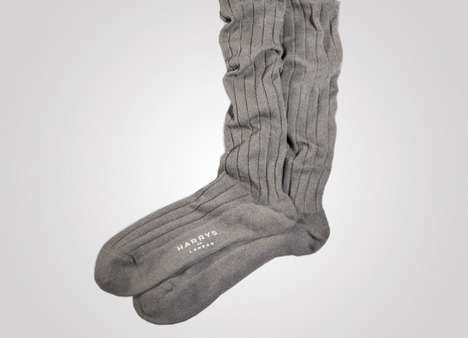 $15,000 Wool Socks - The Harrys of London Cervelt Socks Will Leave Your Wallet Feeling Cold