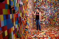 Pixelated Swatch Paintings