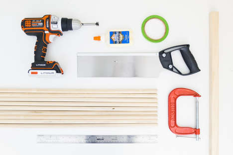DIY Organization Decor - These Stacked Dowel Shelves Embrace Simple Design Details