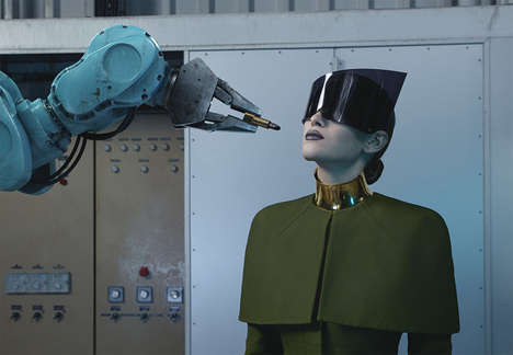 Sensually Sci-Fi Editorials - The SOON Magazine December 2013 Photoshoot is Robotically Futuristic