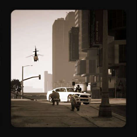 Virtual War Correspondent Photographs - A Player Takes Stunning Grand Theft Auto Photography