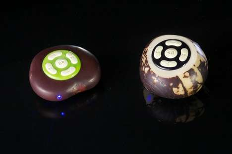 Bean Blasting Music Players - The iBean is an Eco-Friendly Tiny Music Device with Powerful Sound