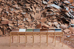 Tsuyoshi Hayashi Creates Modern Seating with Discarded Items