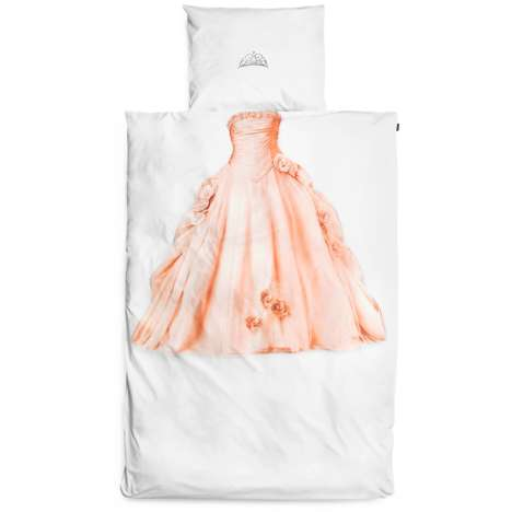 Printed Princess Sheets - These Princess Bed Sheets from 'Snurk' Will Let You Sleep Like
