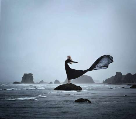Surreal Alter-Ego Self-Portraits - Photographer Rachel Baran Explores a Moody and Magical World
