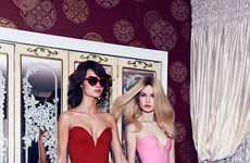 Racily Romantic Catalogs - The Nasty Gal Valentine's Day 2014 Lookbook Stars Moa and Camilla