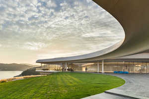 Southcape Owner's Club Resort Roof Reflects the Landscape's Topography