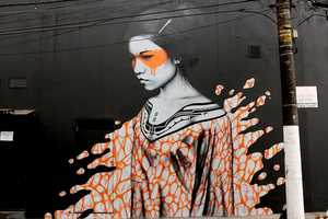Fin Dac and Angelina Christina Team Up Again to Make More Street Art