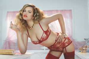 The Agent Provocateur SS14 Campaign Stars Hailey Clauson