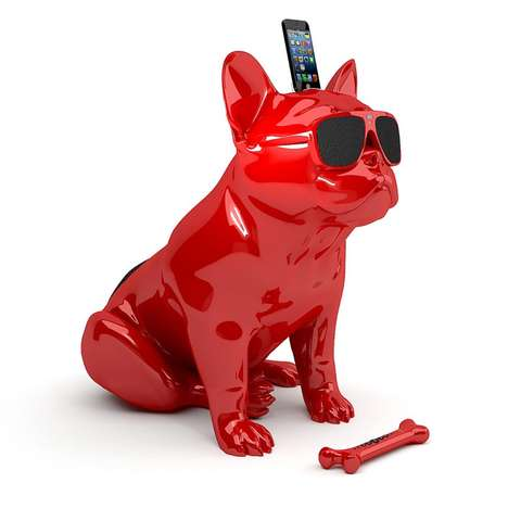 Conspicuous Canine-Inspired Speakers - The AeroBull Speaker is Full of Sound and Spunk