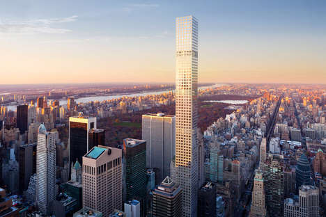 New York-Inspired Residences - 432 Park Avenue Reconceptualizes Living in a Traditional Apartment