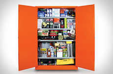 Fully-Stocked Survival Storages - The Wolfram Cabinet Prepares People for Any Emergency Situation