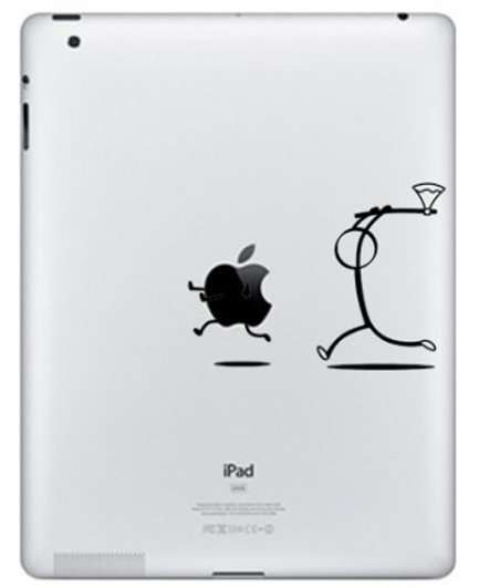 Hilariously Violent Tablet Stickers - Give You iPad Some Life with the Apple Killer iPad Decal