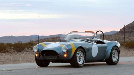 Historical Anniversary Racing Cars - The Shelby Cobra 289 FIA is in Honor of FIA's 50th Annive
