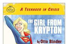 Reimagined Superheroine Novels