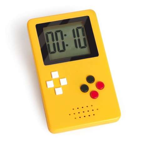 Retro Gamer Timers - The Game Time Digital Timer Pays Tribute to the Classic Game Boy