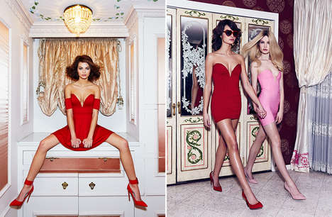 Lust-Worthy Valentine Lookbooks - The Nasty Gal Valentine's Day Collection is Sassy