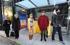 Heated Bus Shelters - 'The Beach Look Good On You' Campaign Encourages New Yorkers to Vacation
