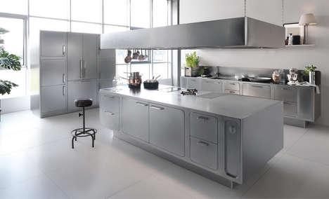 Culinary Coordinated Kitchens - This Modern Kitchen is Equipped for the Skills of a Chef