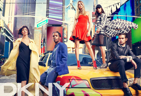 Rapper-Starring Fashion Ads - This DKNY Spring/Summer Campaign Features Rappers and Models