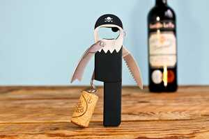 This Suck UK Corkscrew Design Takes the Shape of a Pirate