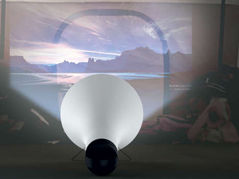 Hi-Tech Tent Projectors - The Handy Beam Brings Big Screen Entertainment to Your Campsite