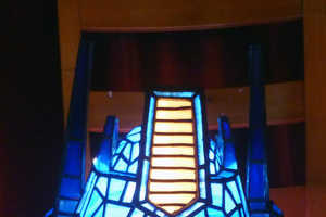 This Transformers Lamp From 3rdEdgeStainedGlass is Pure Illuminated Awesome
