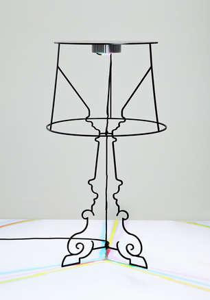 Reinvented Table Lamps - Kartell Challenges Designers to Rethink the Iconic Bourgie Lamp Design