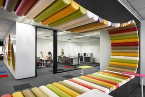 The Sherwin-Williams Office in Malaysia is Vibrant and Modern