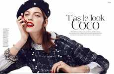 100 Chic Chanel Infused Editorials