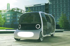 Driverless Commuter Cabs - The BOT Autonomous Car Streamlines Suburban and Urban Transport