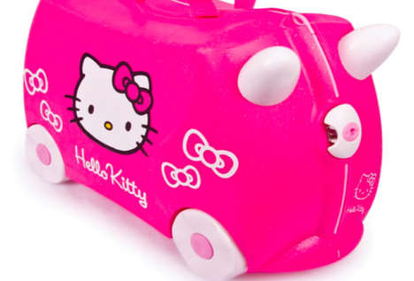 Cartoon Kitty Carry-Ons - The Trunki Hello Kitty Ride-On Is the Cats Meow for Kids