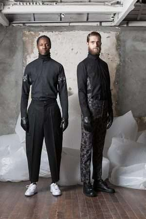 Solemnly Genteel Menswear - The Cy Choi FW 2014 Lookbook is Sober Yet Stylish