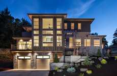Multilevel Digitized Homes - Jordan Iverson Built a Three Stop Elevator for a Three Person Home