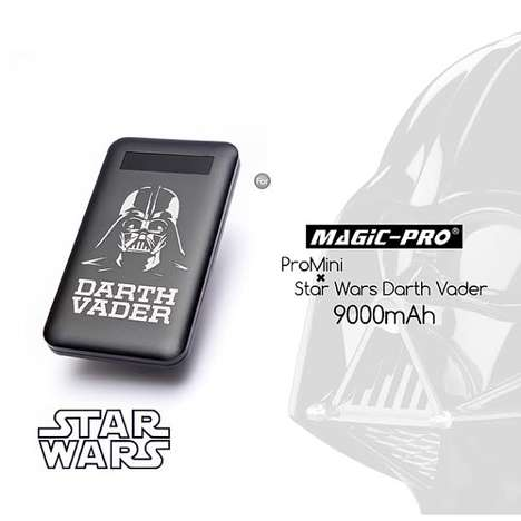 Galactic Villain Battery Chargers - The Star Wars Darth Vader ProMini 9000 is Seriously Upgraded