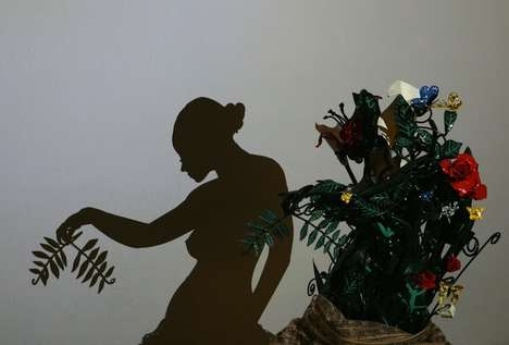 Baffling Shadow Art - Tedosio Sectio Aurea Turns Abstract Sculptures into Shadowy Paintings
