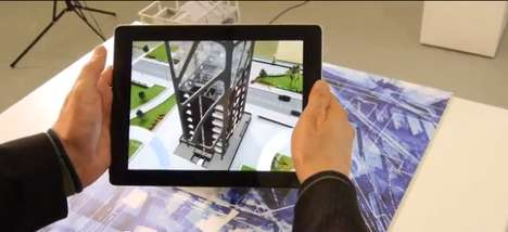 Hi-Tech Real Estate Apps - The Inition Augmented Reality App Fleshes Out Pre-Construction Properties