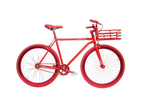 Fashion Designer-Inspired Cycles - This Fashion Bike Takes Some Hints From Louboutin