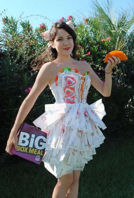 Taco Bell wrapper dress