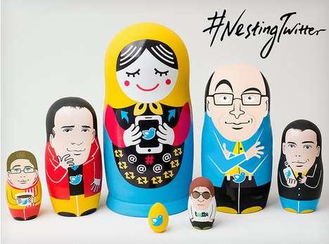Social Media Matryoshka Dolls - Nesting Twitter by Yiying Lu Tells the Story of a Startup