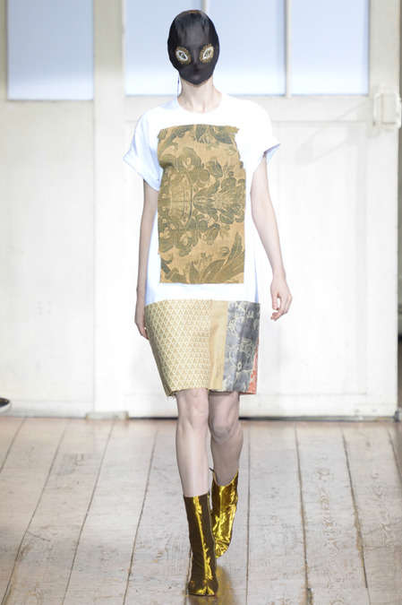 Marvelous Mask-Filled Runways - The Maison Martin Margiela Spring 2014 Show Hints at Mystery