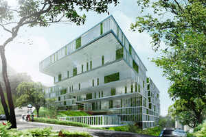 The Revitalized Island School has 28,000 Sqm of Greenery