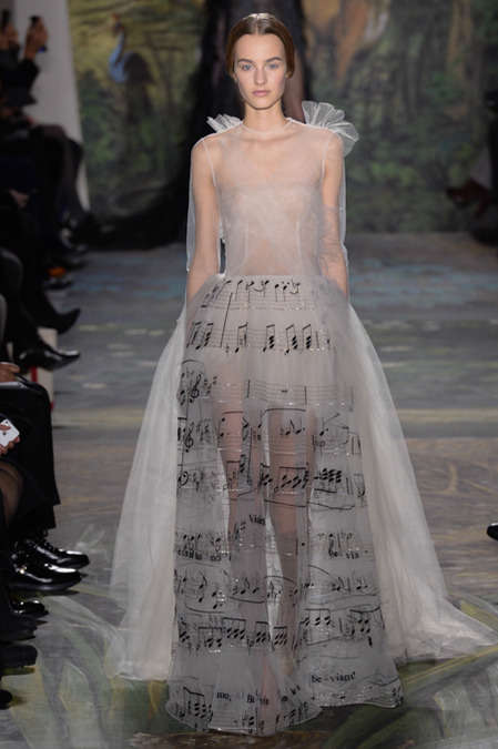 Theatrical Fantasy Collections - Valentino Spring 2014 Couture Showed in Paris This Week