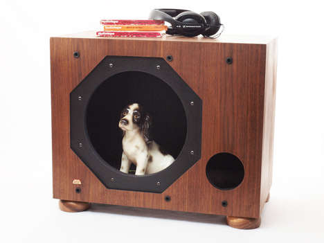 Musical Mutt Beds - This Cool Dog Bed From JT Baldwin Will be Music to Your Pooch's Ears