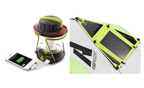 Device-Chaging Outdoor Lanterns - The Goal Zero Lighthouse250 Solar Lantern Recharges Devices
