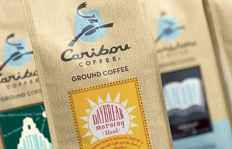 Caribou Coffee Packaging